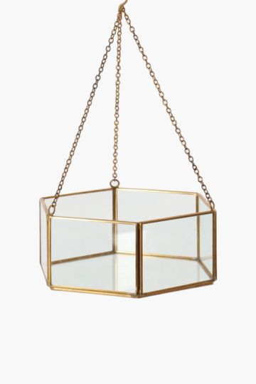 Hanging Hexagon Planter