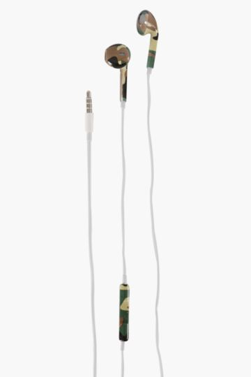 Camo Earphones