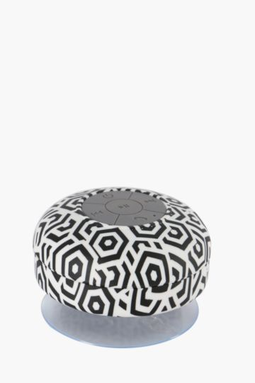 Shower Blue Tooth Speaker Geometric