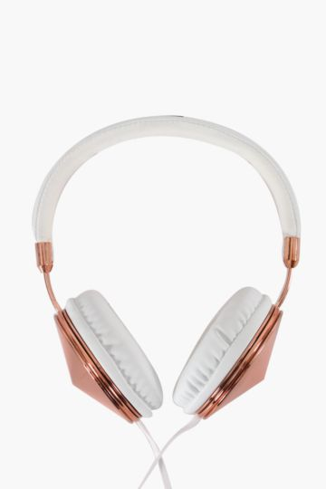 Rose Gold Headphones