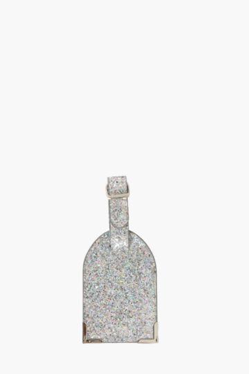Glitter Luggage Tag