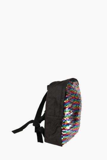 Reverse Sequin Backpack