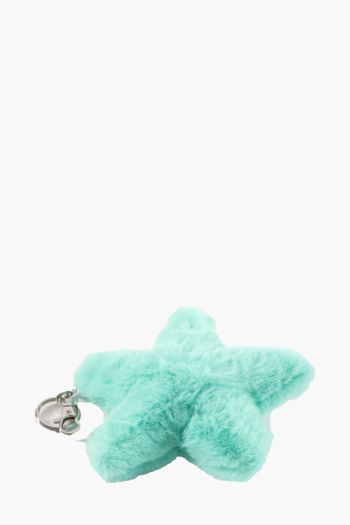 Star Pom Key Ring