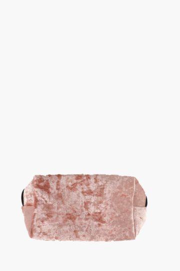 Crushed Velvet Make Up Bag