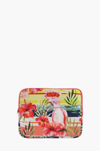 Tropical Bird Laptop Case 13 Inch