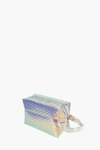 Iridescent Cosmetic Bag
