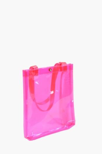 Iridescent Shopper Bag