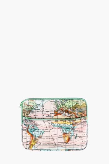 Map Laptop Case 13 Inch