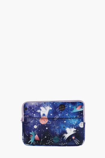 Spaced Out Laptop Case Large