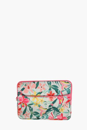 Floral Laptop Case Large