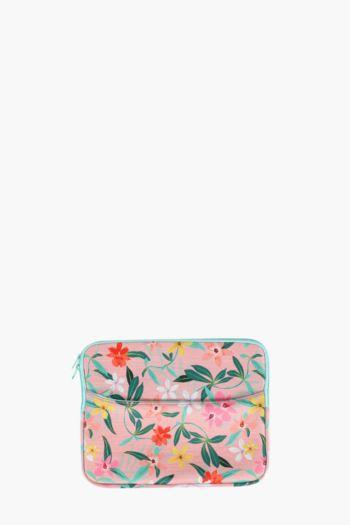 Floral Laptop Case Medium