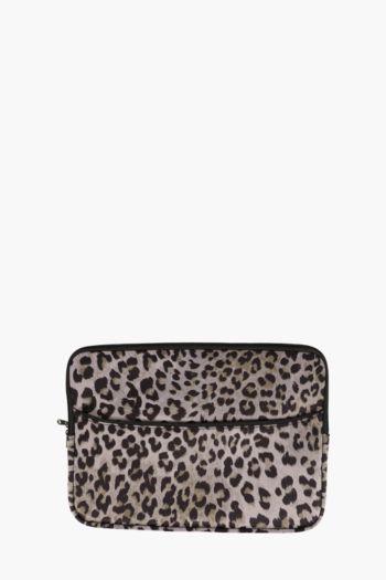 Leopard Print Laptop Case 15 Inch