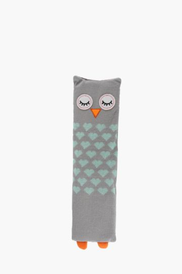 Owl Long Bean Bag Warmer