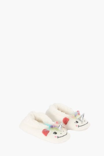 Unicorn Slippers M-l