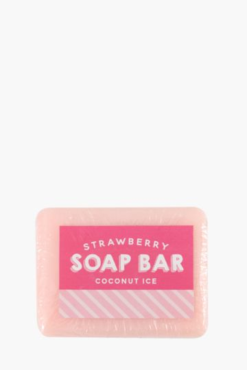 Strawberry Coconut Ice Soap Bar