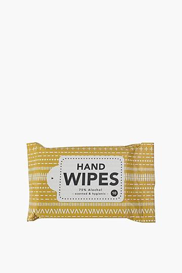 Sanitising Hand And Surface Wipes Geometric, 10 Pack