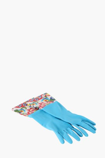 Cleaning Gloves Floral