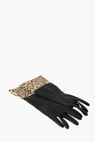 Cleaning Gloves Leopard