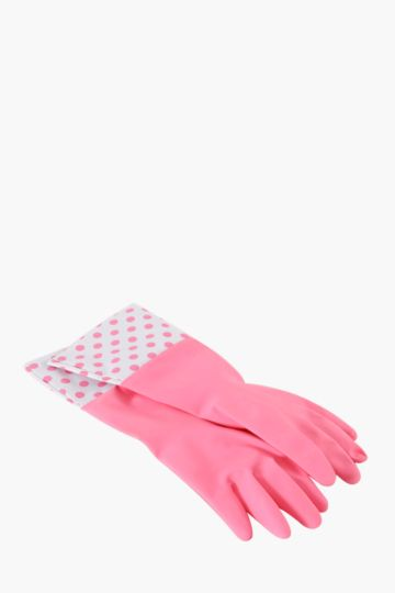 Cleaning Gloves Polka Dots