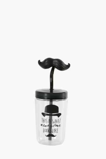 Moustache Sippy Cup