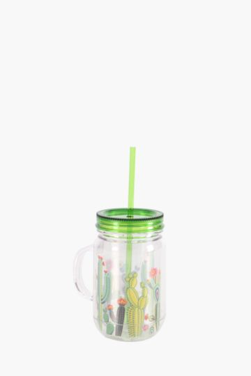 Calavera Plastic Jam Jar