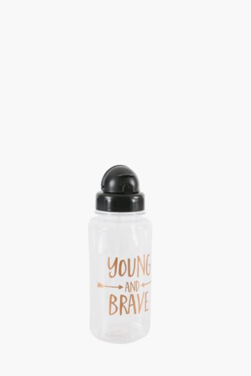 Script Young And Brave Water Bottle, 1l