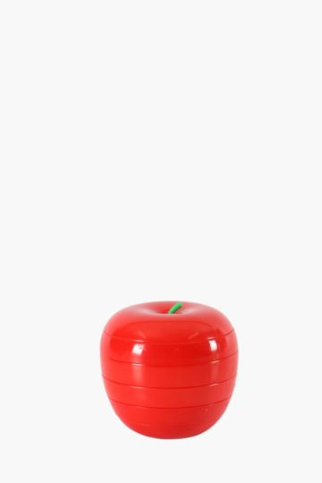 Plastic Apple Dish Set