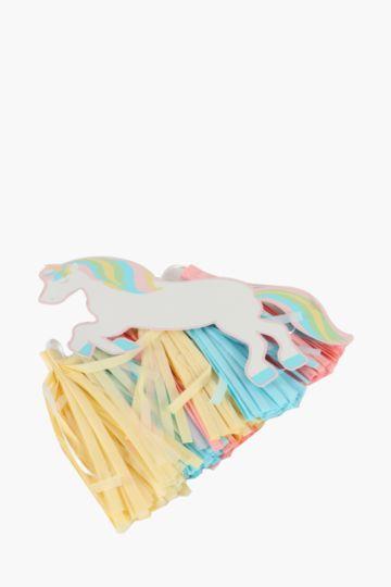 Unicorn Rainbow Decorative Tassel, 2m
