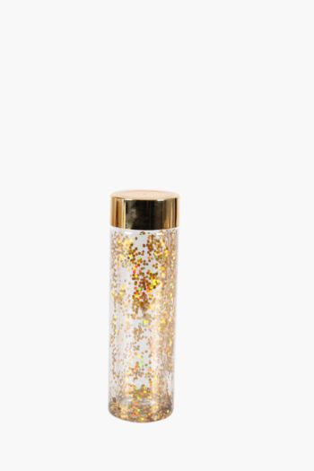 Glitter And Chrome Water Bottle
