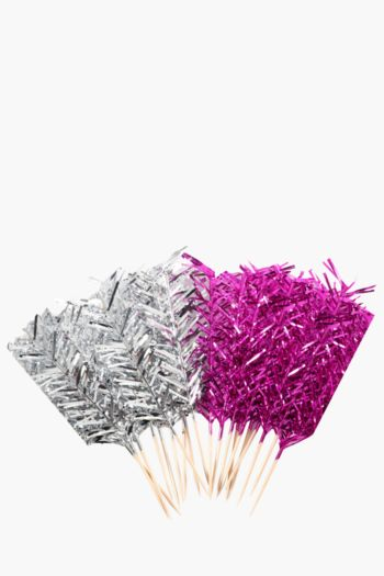 Pack Of 20 Funky Disco Cake Toppers