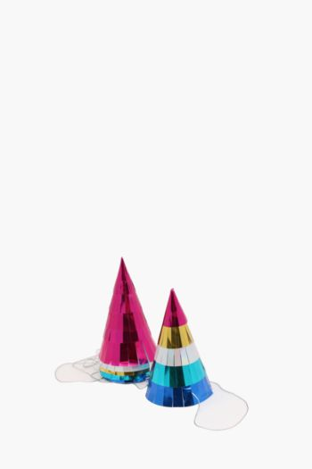 Pack Of 6 Tropical Party Hats