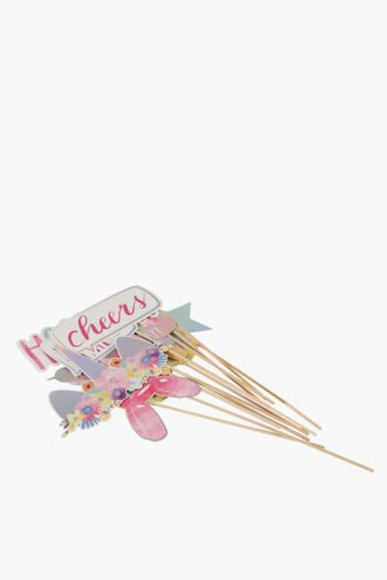 Pack Of 12 Magical Things Photo Booth Props
