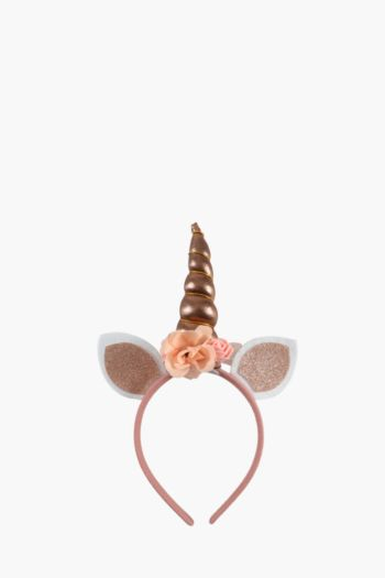 Unicorn Flower Horn Alice Band