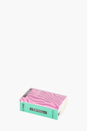 Pack Of 10 Zebra Stripe Tissues
