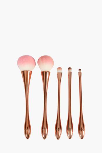 Rose Gold Make Up Brush Set