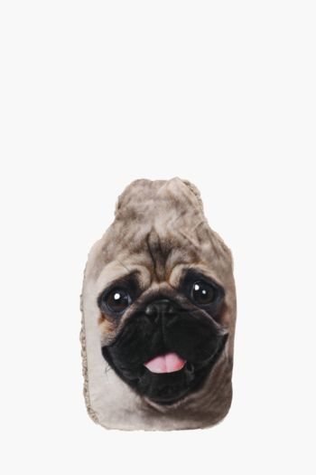 Novelty Pug Hot Water Bottle