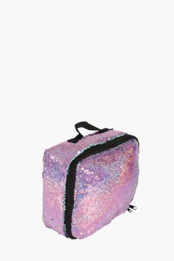 Reverse Sequins Lunch Bag