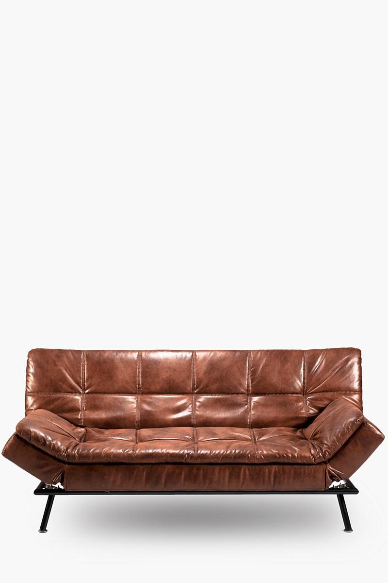 Distressed Sleeper Couch Living