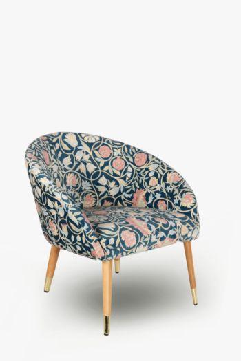 Noble Velvet Printed Chair