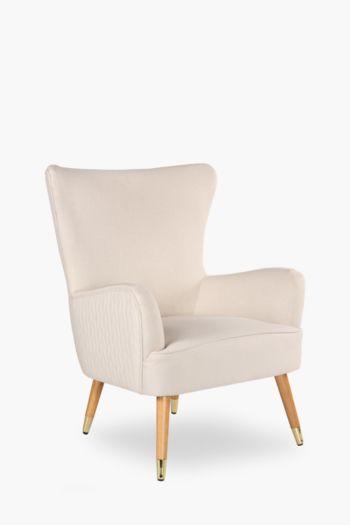 Noble Wingback Velvet Chair