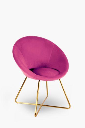 Disc Velvet Chair