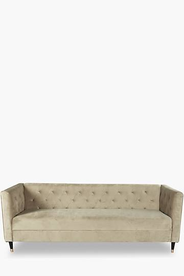 Cognac 3 Seater Sofa