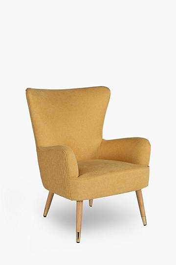Noble Wingback Textured Chair