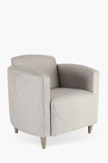 Angled Stripe Ellen Tub Chair