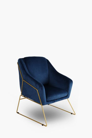 Berlin Velvet Chair