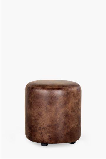 Round Saddle Ottoman
