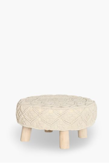 Woven Knitted Stool