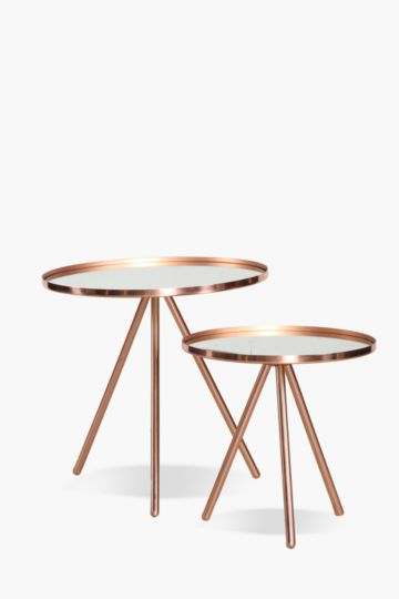 Metal Nested Side Tables