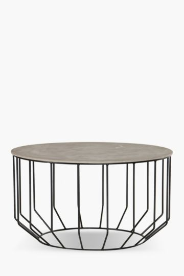 Wire Metal Coffee Table