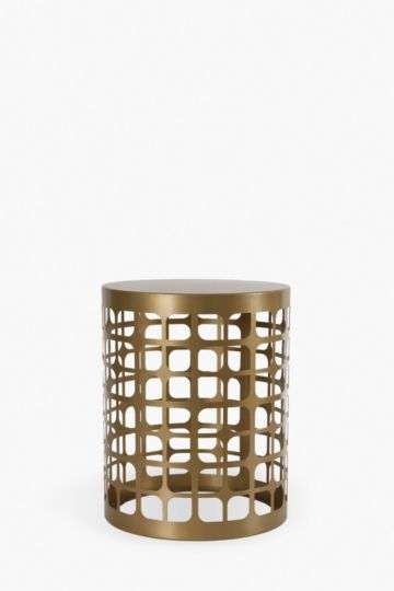 Danbury Metal Cut Out Side Table